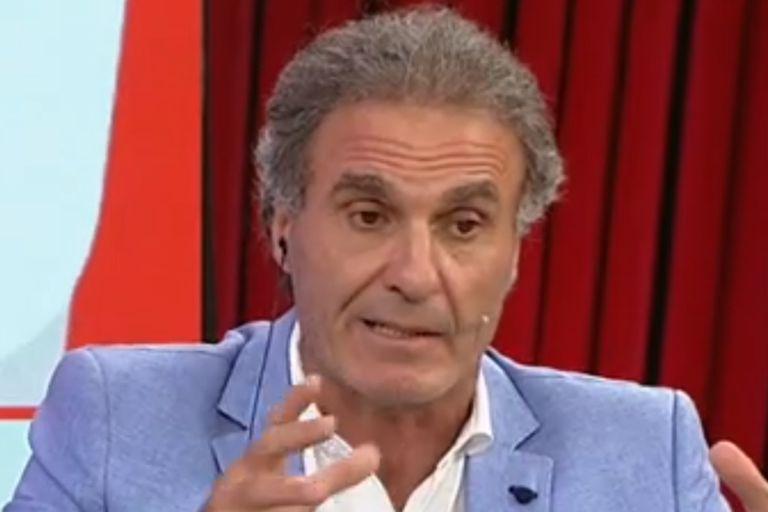 """La chicana de Oscar Ruggeri a Mario Pergolini por su rol en Boca: """"¿Se fue?"""""""