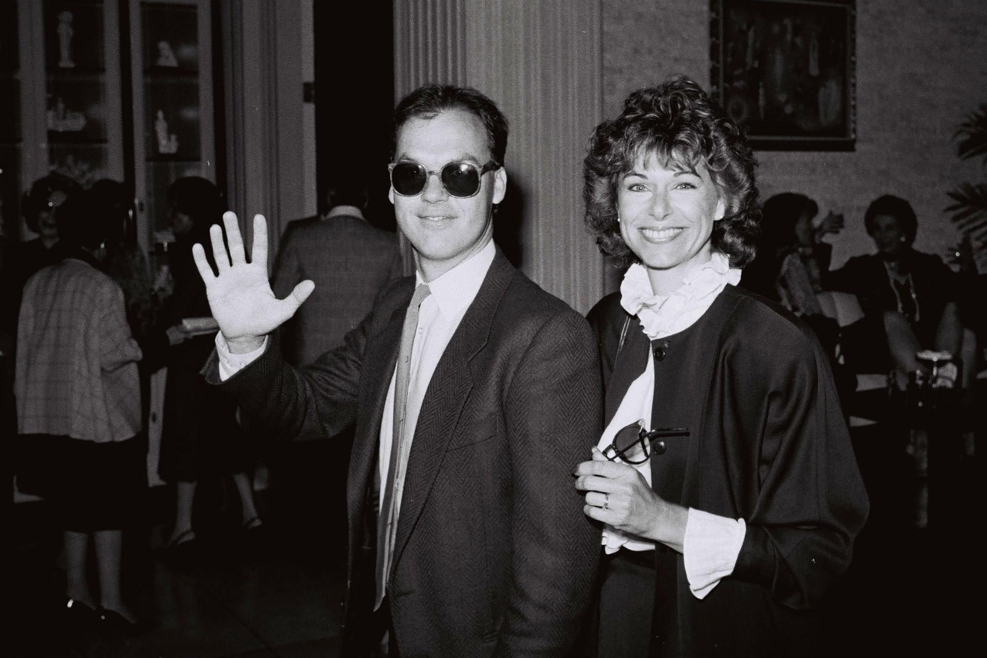 Michael Keaton se casó con Caroline McWilliams en 1982 y tuvieron un solo hijo, Sean; la actriz falleció de cáncer en 2010