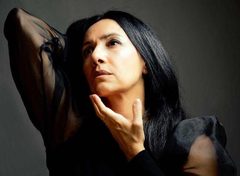 Roxana Amed une con su voz el jazz,  el folclore y el rock.