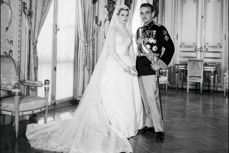 Grace Kelly y Rainiero de Mónaco