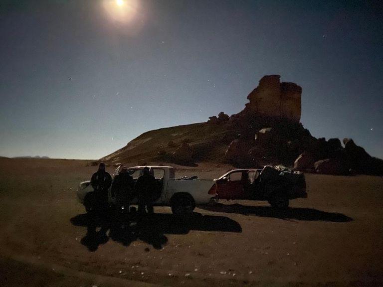 ¿Un paisaje lunar? No: una ruta narco a través de la Puna