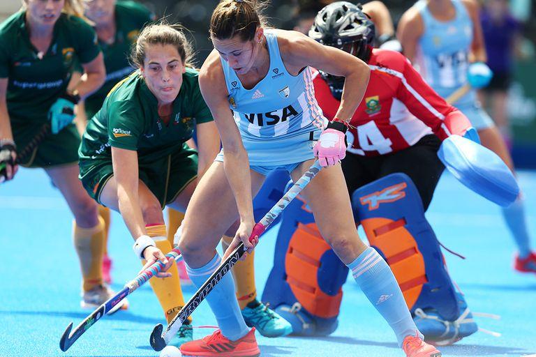 Mundial: las Leonas empataron 1-1 con Sudáfrica y enfrentarán a Nueva Zelanda