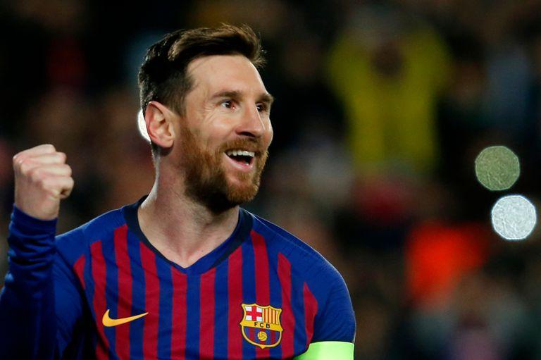 Barcelona ganó con dos goles de Messi.