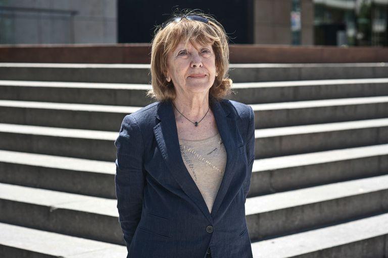 La escritora Josefina Delgado, una de las amigas argentinas de Idea Vilariño