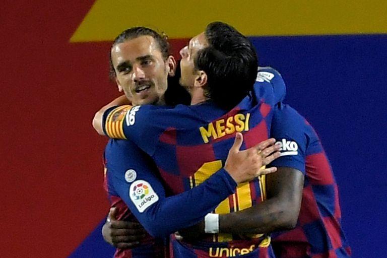 Messi y Griezmann mejoraron su relación con el paso del tiempo