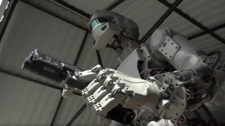 Terminator ruso: comienzan la producción en serie de los robots de combate