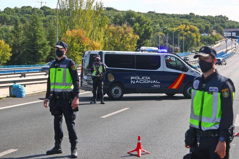 Controles en Madrid por la pandemia