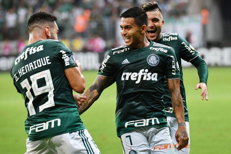 Palmeiras ganó y espera en semifinales por el ganador de la serie de Boca