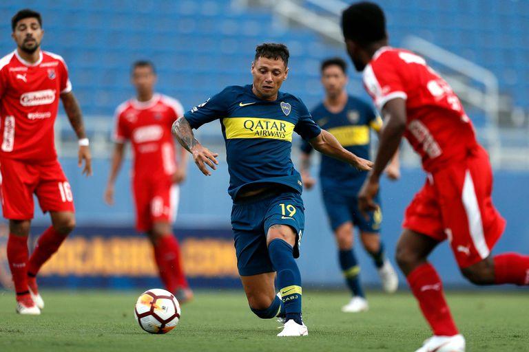 Buen comienzo: Boca le ganó 4 a 2 a Independiente de Medellín