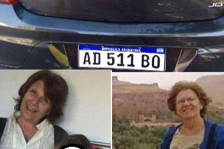 La imagen que compartieron los familiares en redes sociales para buscar a Mónica y Claudia