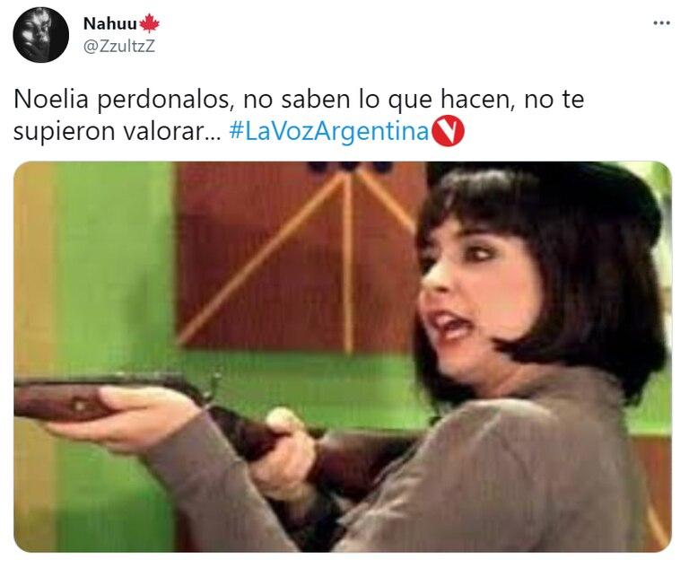 La indignación por Noelia, la participante con una fuerte historia de vida por la que no se dio vuelta ninguno de los miembros del jurado