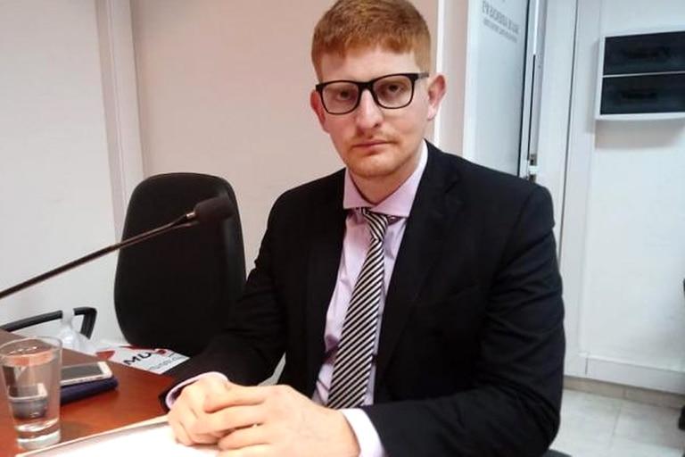El fiscal Juan Marichal, a cargo de la acusación