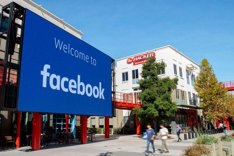 La sede central de Facebook en Menlo Park, California, en 2019