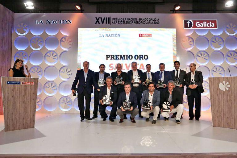 Todos los ganadores del premio LA NACION-Banco Galicia a la Excelencia Agropecuaria