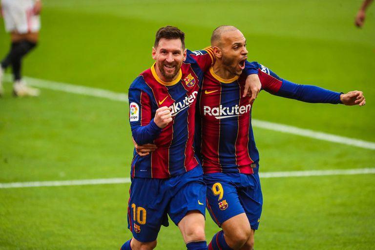 El corazón del Barsa. Messi hace más goles que la suma de los otros delanteros