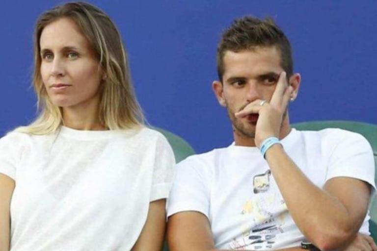 La relación entre Fernando Gago y Gisela Dulko se quebró por una infidelidad del exfutbolista