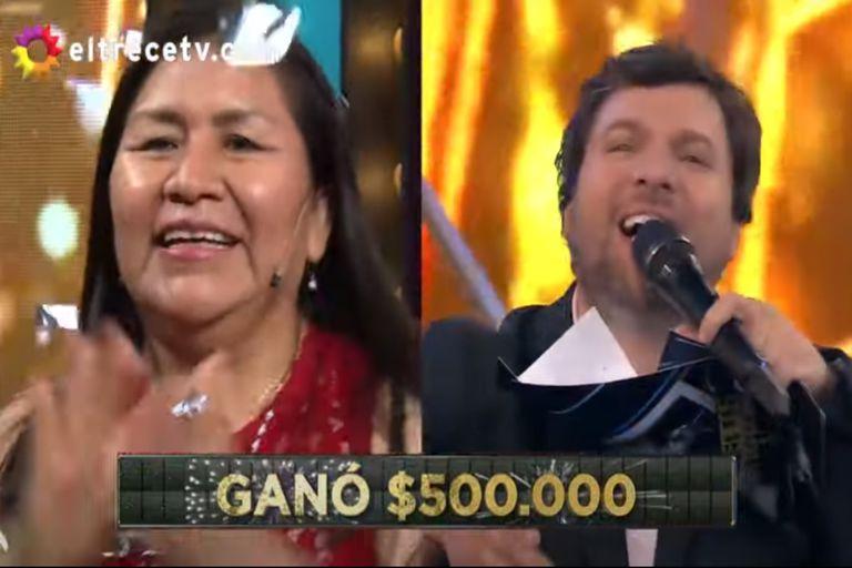Bienvenidos a bordo: la emoción de una enfermera al ganar medio millón de pesos