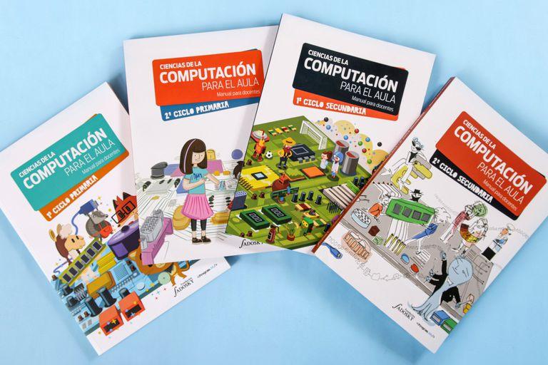 Enseñar computación: la Fundación Sadosky ofrece manuales gratis para docentes