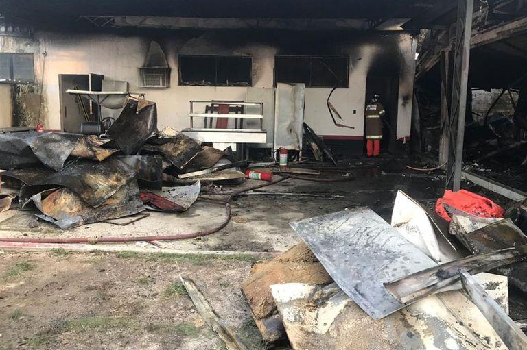 El incendio en el lugar de entrenamiento de Flamengo