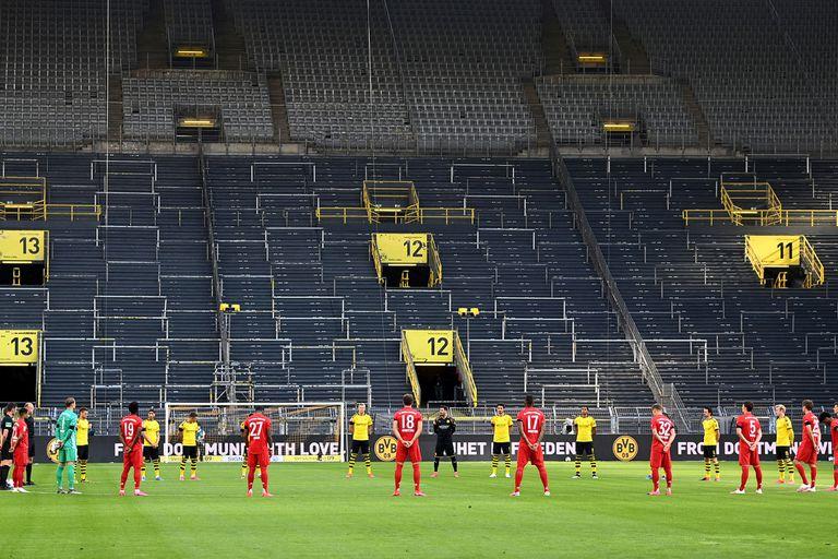 A puertas cerradas: así arrancó de nuevo la Bundesliga