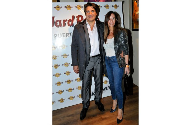 Noche romántica para Guillermo Andino y Carolina Prat