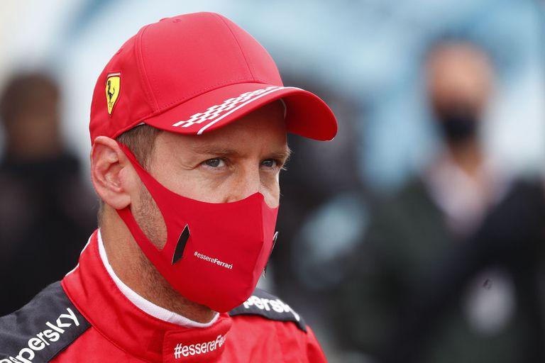 El piloto alemán de Ferrari, Sebastian Vettel, había ganado en Bélgica en el GP de 2018.