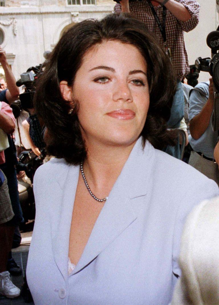 Monica Lewinsky, en 1995 cuando se la relacionó con el entonces presidente de los EE.UU, Bill Clinton