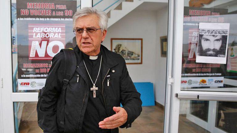 La mesa de diálogo es arbitrada por el obispo de la Diócesis de San Carlos de Bariloche, monse?or Juan José Chaparro