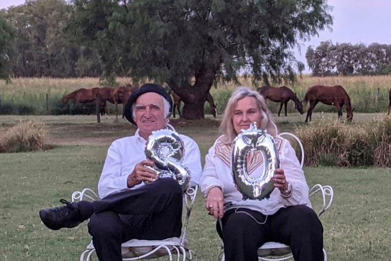 80 años. Afecto, mensajes y videos con humoradas para una leyenda del polo
