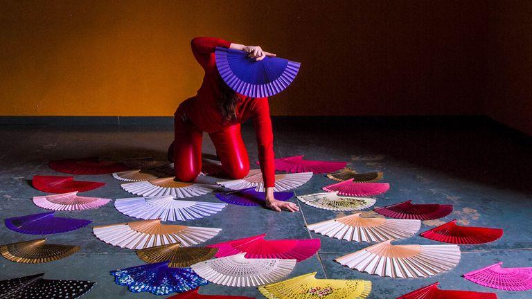 Los abanicos de Mariana Astutti
