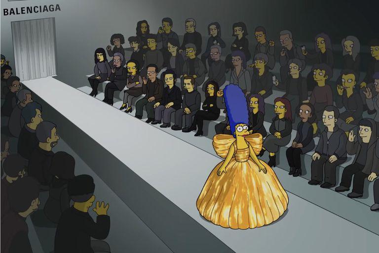 Marge, protagonista del desfile
