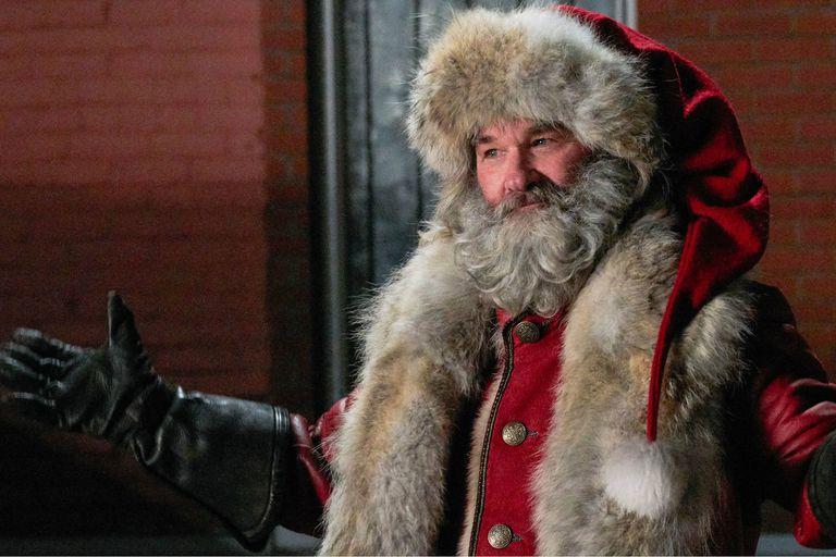 Kurt Russell en Las crónicas de Navidad, estreno de Netflix