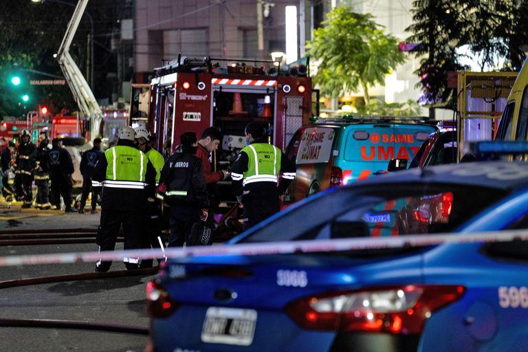 Las Justicia intenta determinar los motivos del incendio que terminó con la vida de dos bomberos