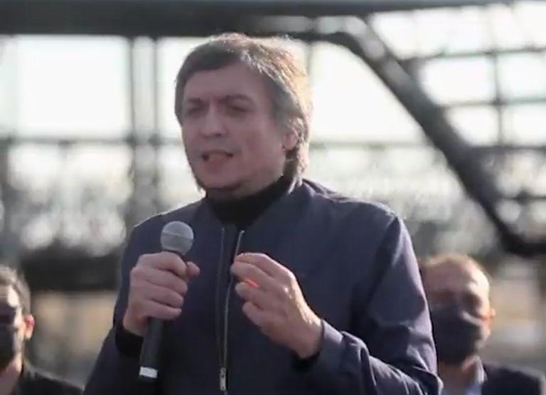 """""""Hicieron una fiesta en nuestra casa y no nos invitaron"""": revuelo por un acto de Máximo Kirchner"""