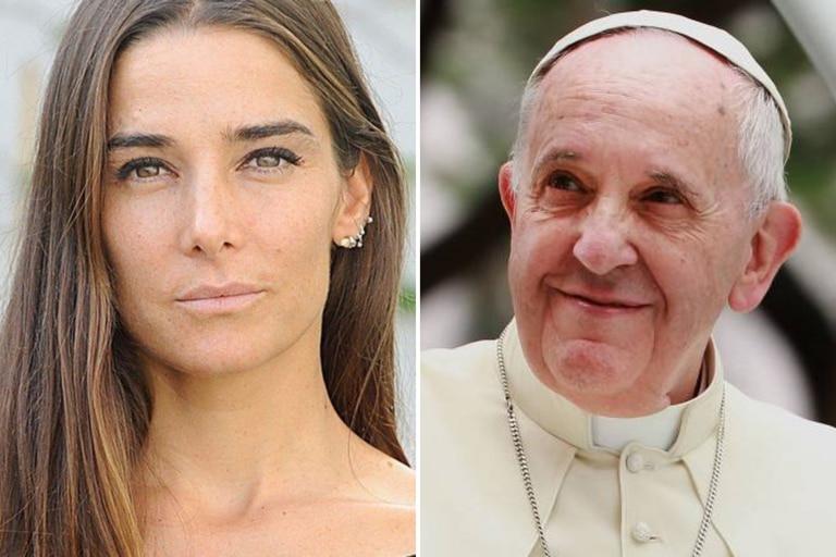 """La dura crítica de Juana Viale al papa Francisco: """"Actúe con el ejemplo"""""""