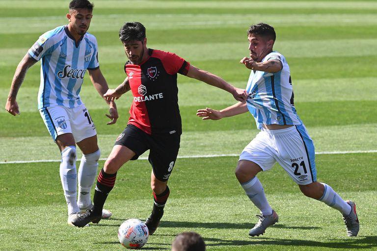 Atlético Tucumán tomó nota de que está para cosas importantes: le ganó a Newell's en Rosario 2-1