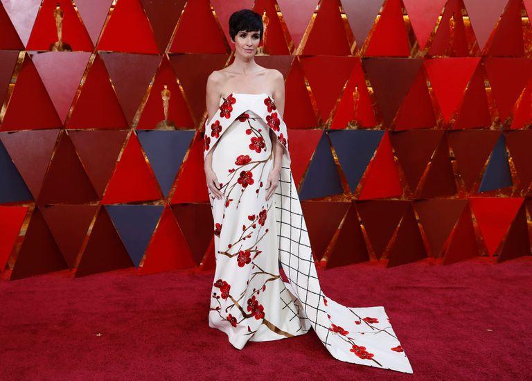 Las española Paz Vega y un vestido polémico con aires orientales