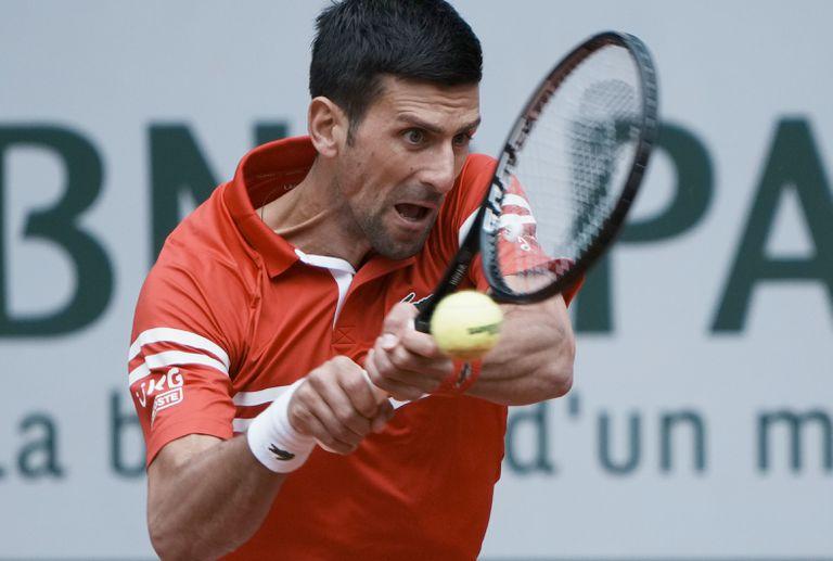 Novak Djokovic viene de ganarle en sets corridos al lituano Berankis