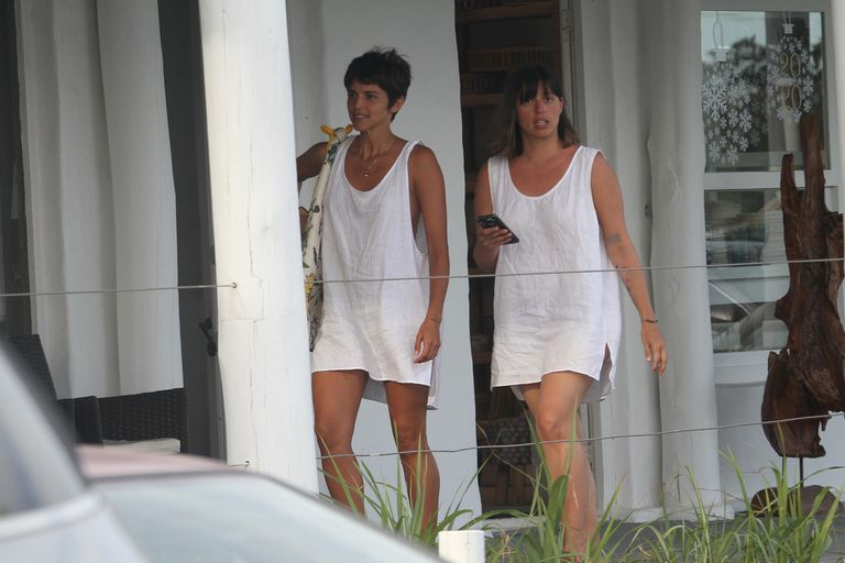 El paseo de Calu Rivero y la tarde de playa de Nahuel Mutti y Catarina Spinetta