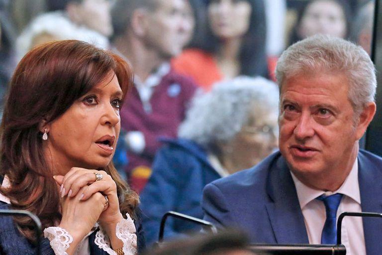 Cristina Kirchner y su abogado Carlos Alberto Beraldi