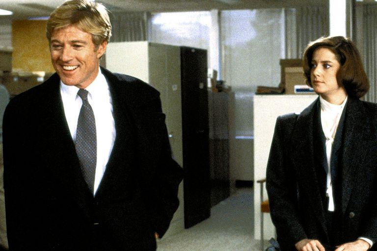 Robert Redford y Debra Winger en Peligrosamente Juntos
