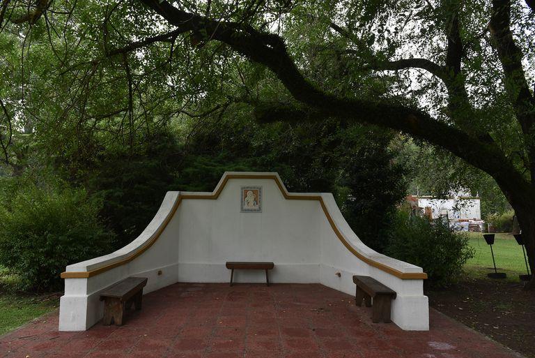 El santuario iba camino a convertirse en una más de las obras que quedaron truncas con la llegada de la cuarentena