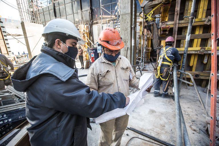 El costo de la construcción registró un leve repunte en junio