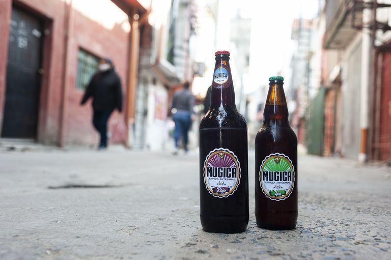 Mugica, la cerveza del Barrio 31