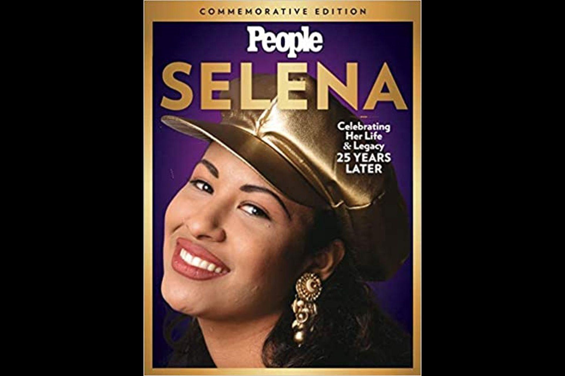 Selena en la tapa de la revista People