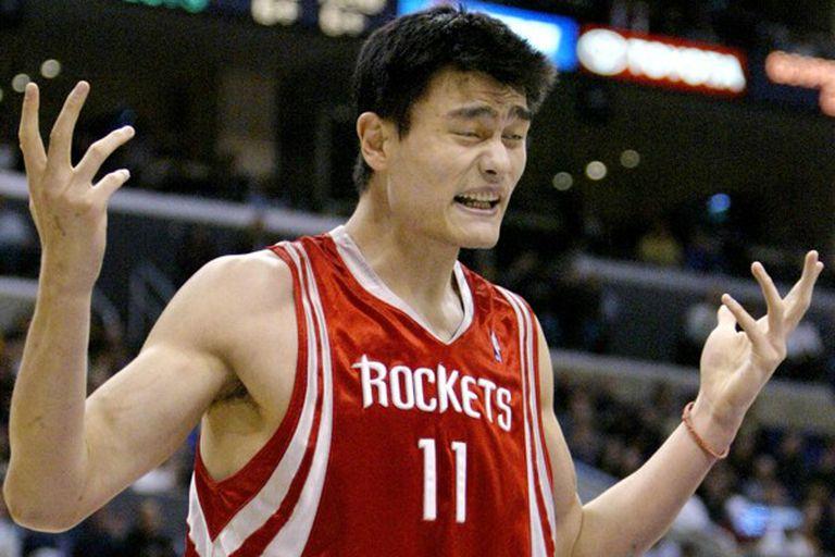Yao Ming, la estrella china de la NBA