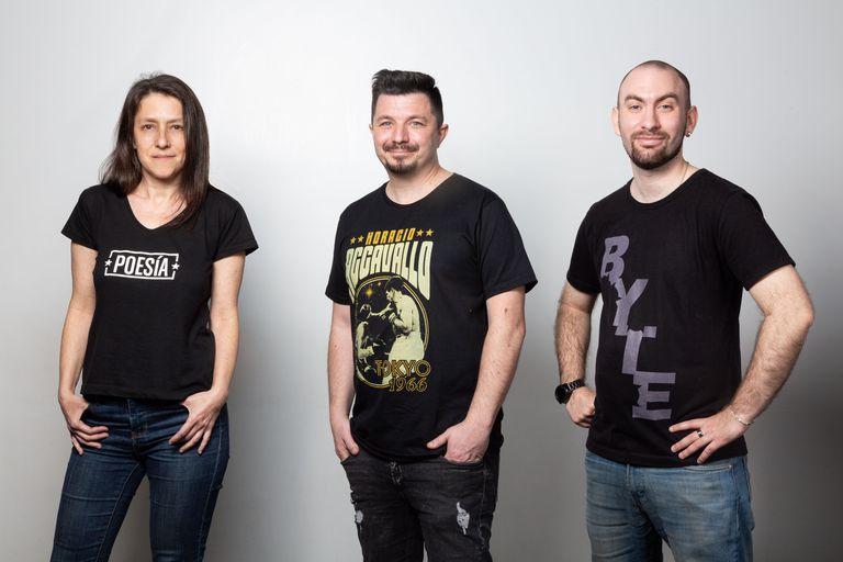 Silvina Synaj, Horacio Accavallo y Facundo Alaniz,tres emprendedores que hicieron de su pasión un negocio