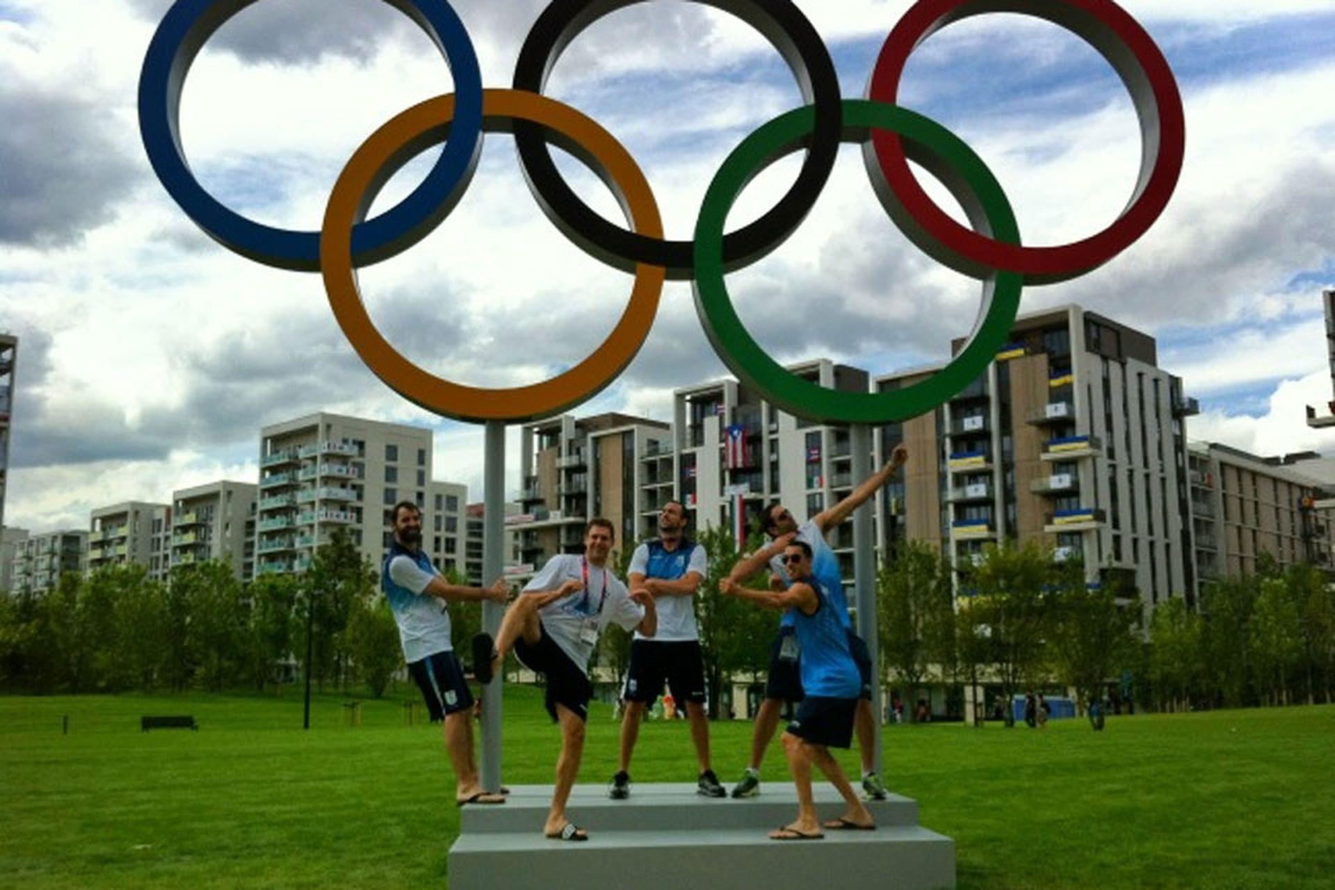 Kammerichs, en la Villa Olímpica