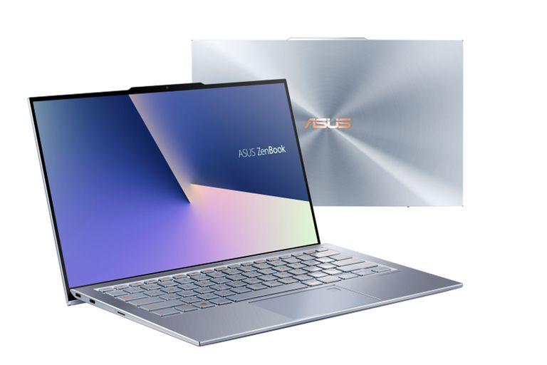 Con bordes ultradelgados, Asus presentó una portátil ZenBook con una pequeña muesca tipo notch para la webcam