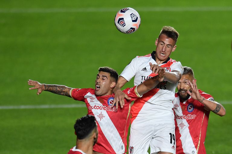 River - Argentinos, por el Torneo 2021: horario, TV y formaciones del partido